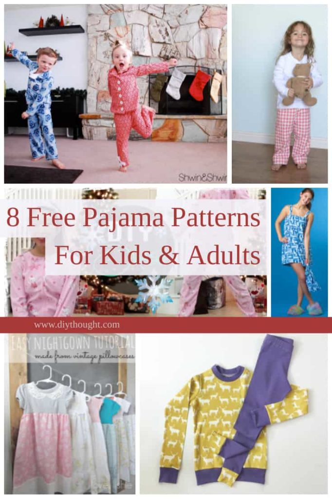 free pajama patterns