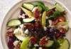 pecan and pear salad with feta