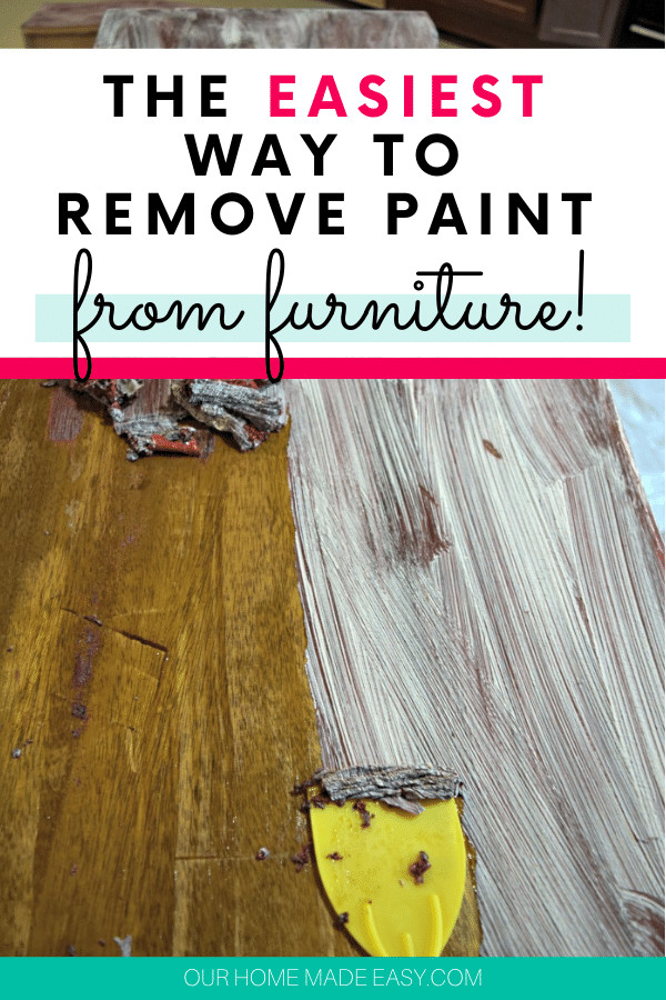 paint removal from furniture