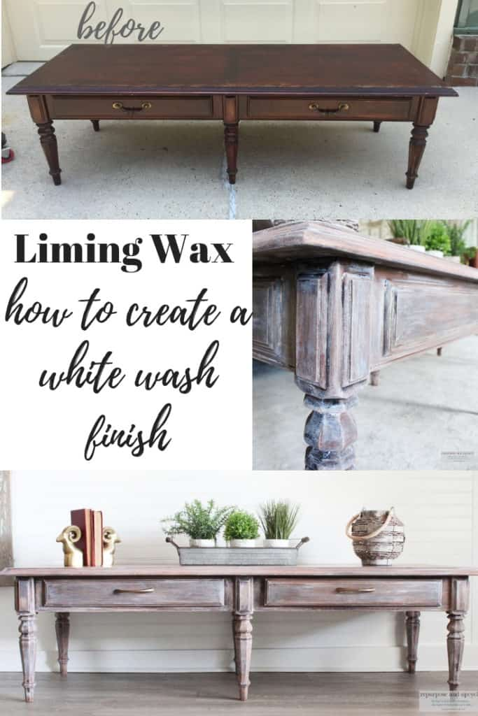 liming wax furniture finish