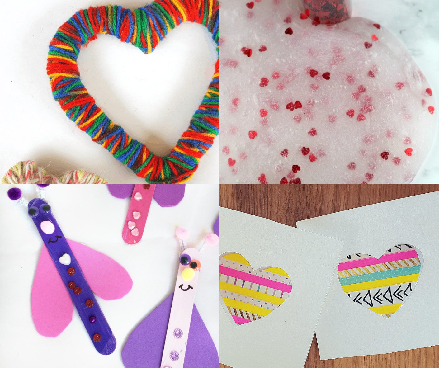 10 Awesome Valentine S Kids Crafts Diy Thought