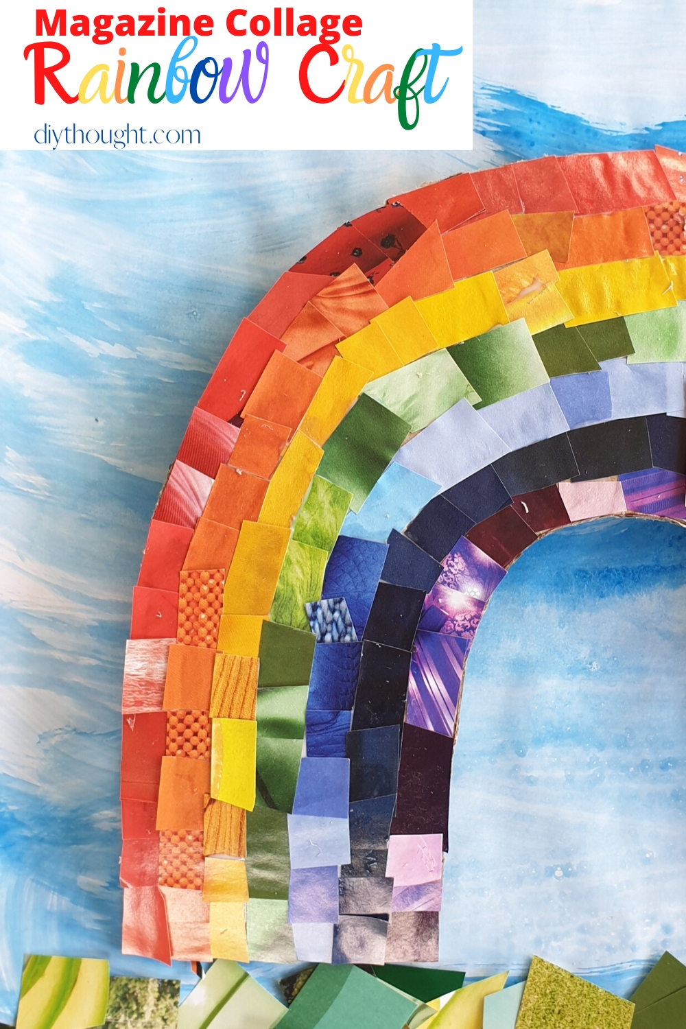DIY Rainbow Collage