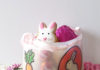 DIY milk jug easter basket