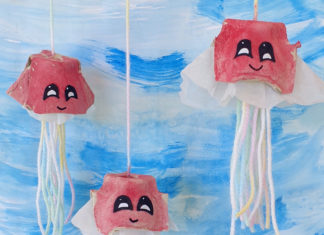 egg carton jellyfish