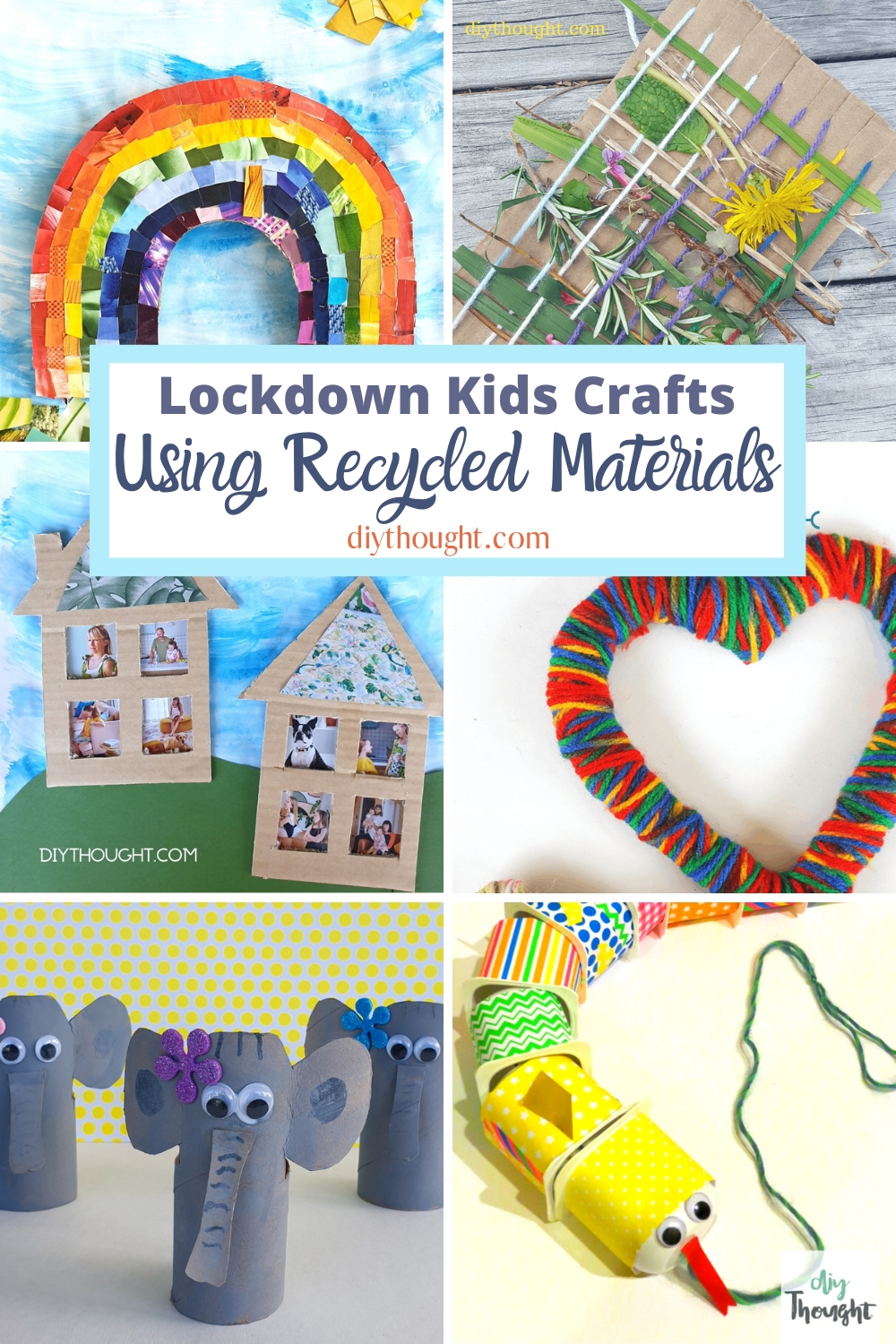 lockdown kids crafts using recycled materials