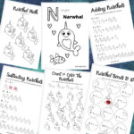 narwhal math printable pack