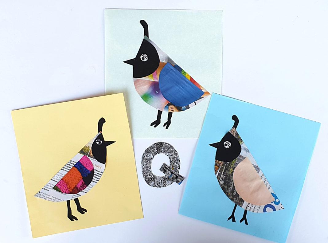newspaper quails