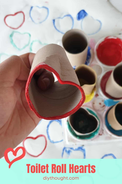 toilet roll hearts