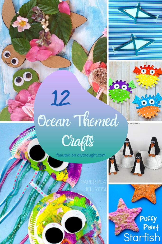12 ocean themed crafts