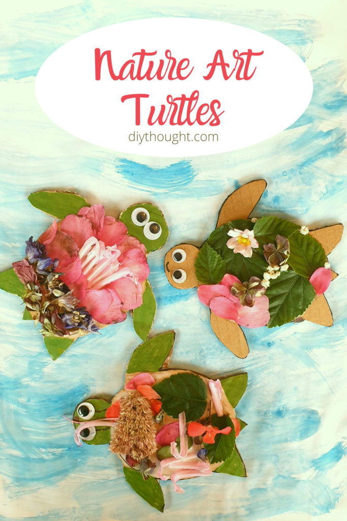 nature art turtles