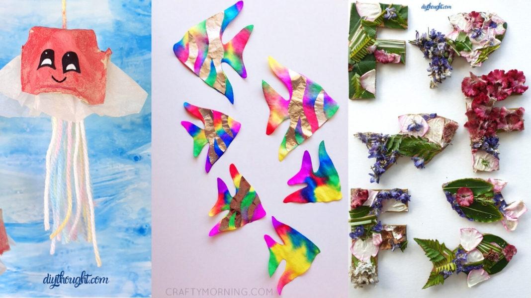 Ocean themed crafts