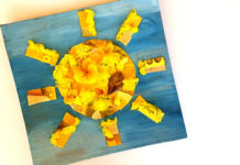 collage sun craft