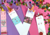 DIY unicorn bookmarks