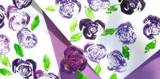 bok choy roses