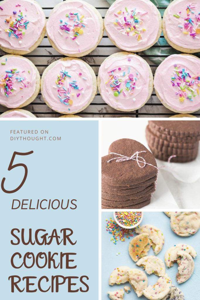 5 delicious sugar cookie recipes