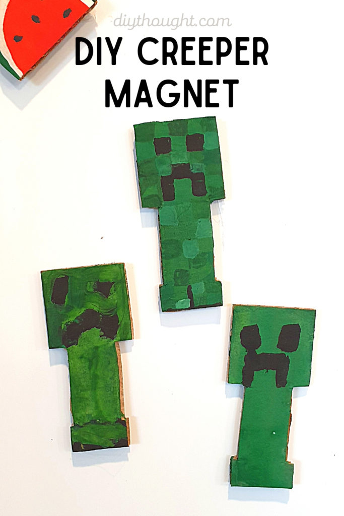 minecraft creeper magnet