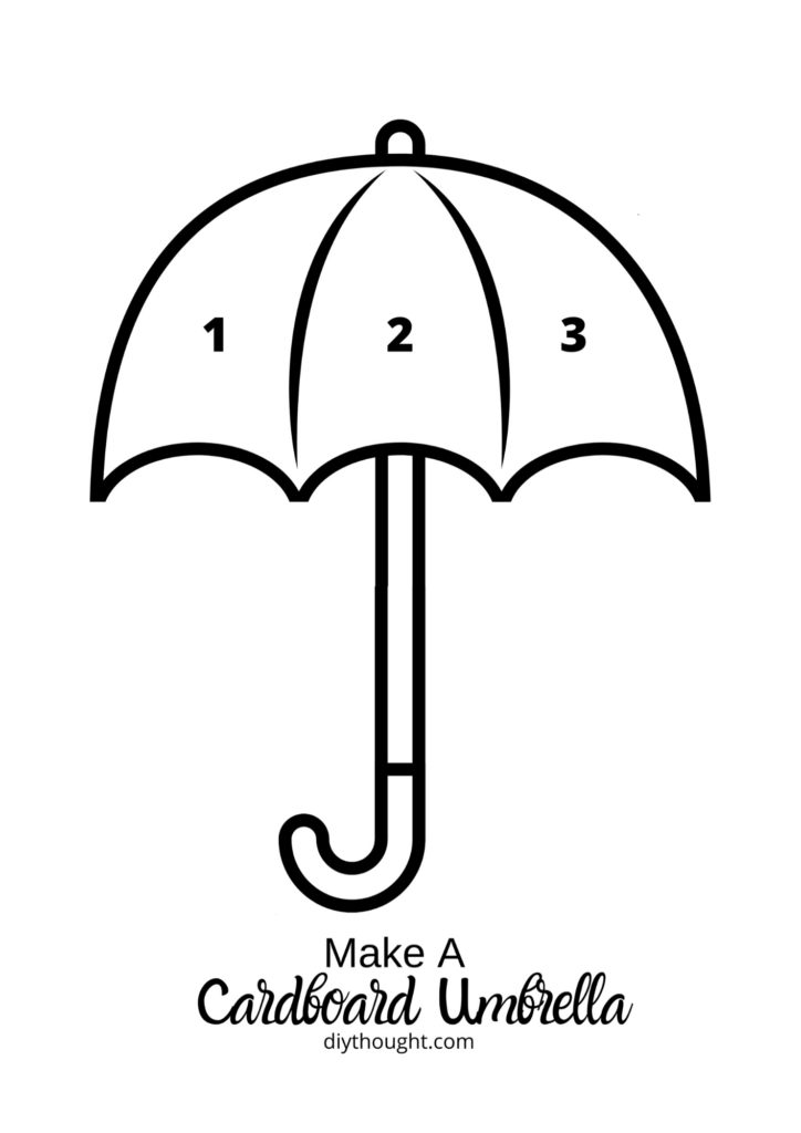 umbrella printable