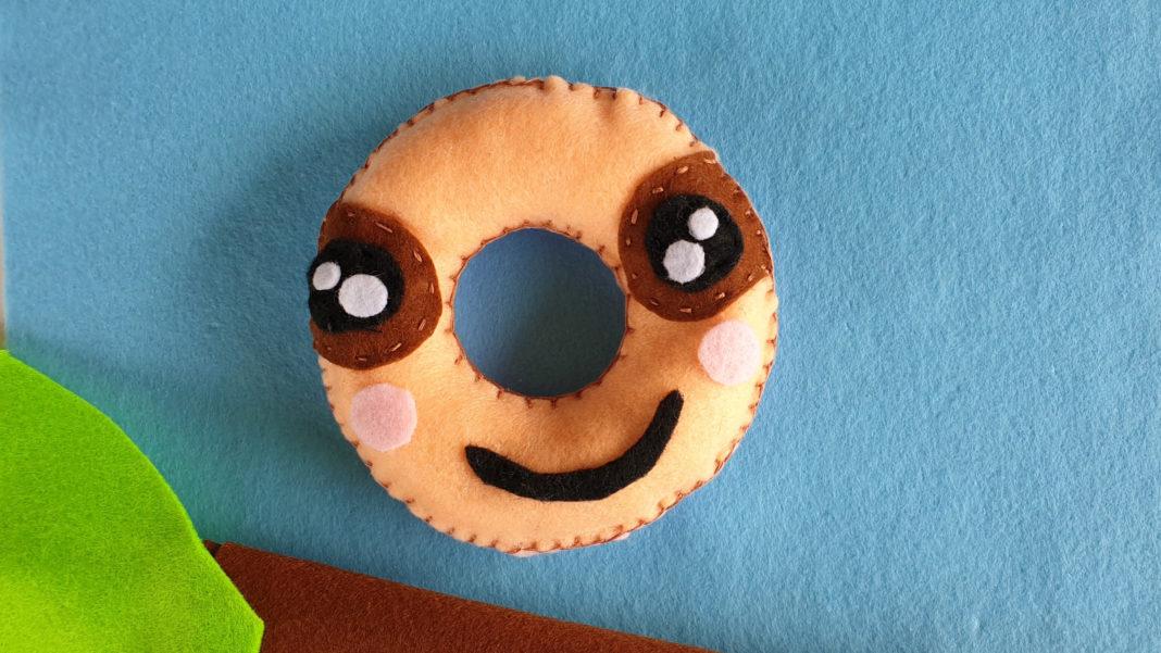 Donut sloth softie tutorial