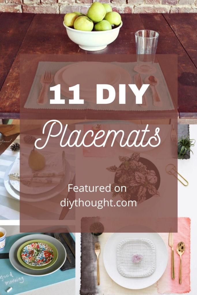 11 DIY Placemats