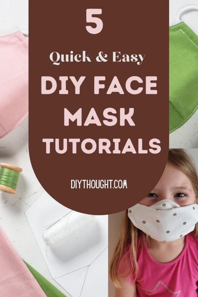 5 quick and easy DIY face mask tutorials