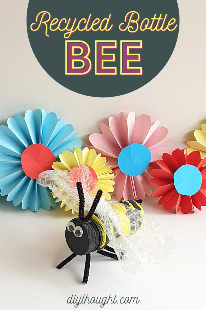 recycled bottle bee