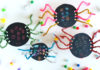 scratch art spider craft