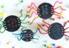 scratch art spider craft