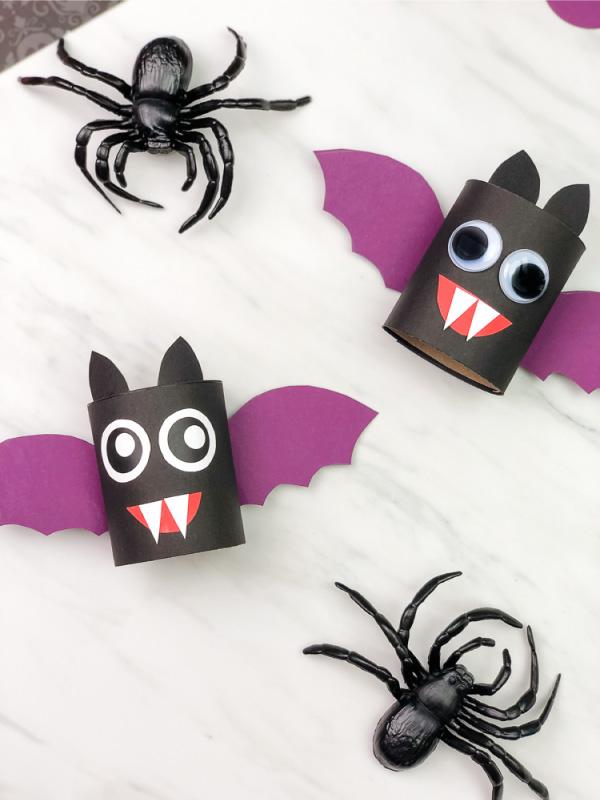 toilet roll bats
