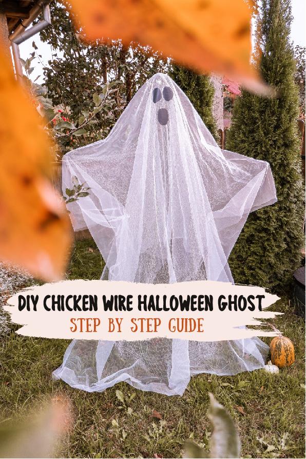 Chicken wire ghost