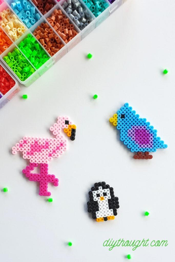 perler bead/ fuse bead birds