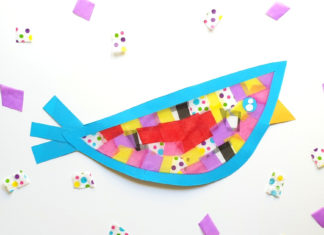 suncatcher bird craft