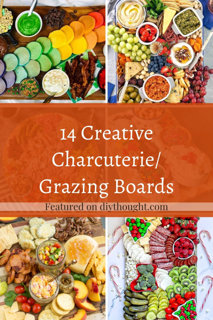 14 Creative Charcuterie/ Grazing Boards