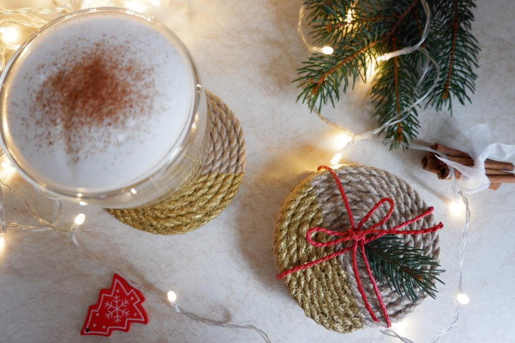 Easy DIY Holiday Coasters