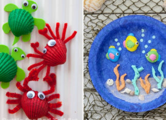 seashell crafts for kids
