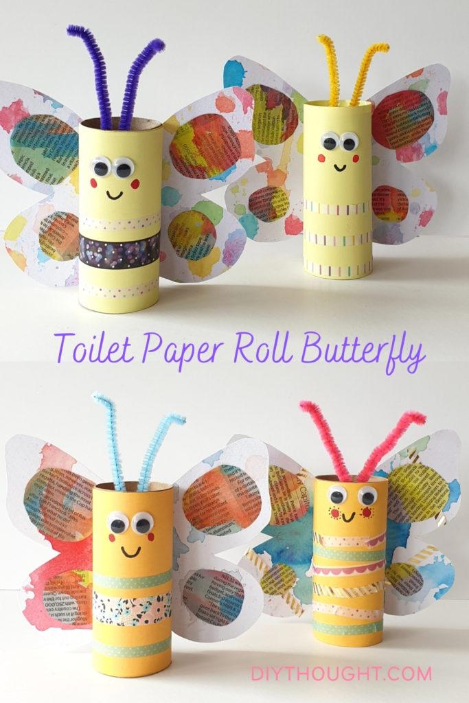 toilet paper roll butterfly