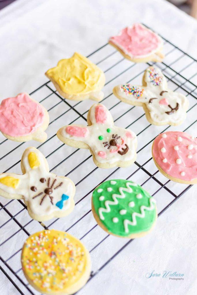 14 Fun Easter Cookie Recipes- sugar cookies
