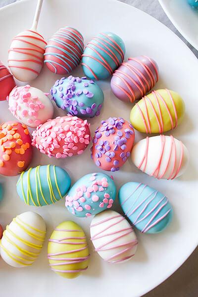 cake pop egg cookies