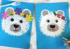 fork and toilet paper painted bear craft