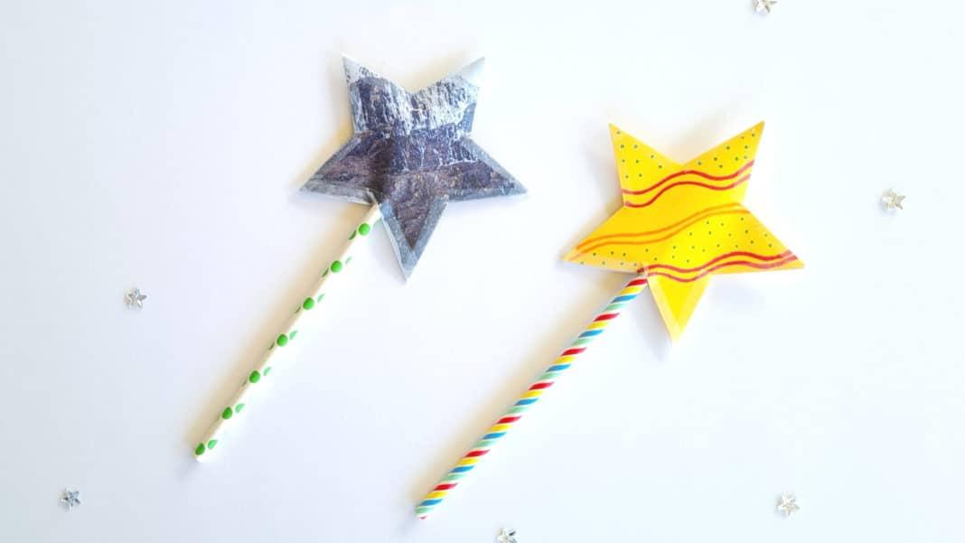 paper shooting star craft